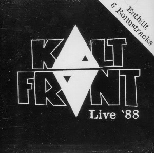 KALTFONT - Live 1988  CD